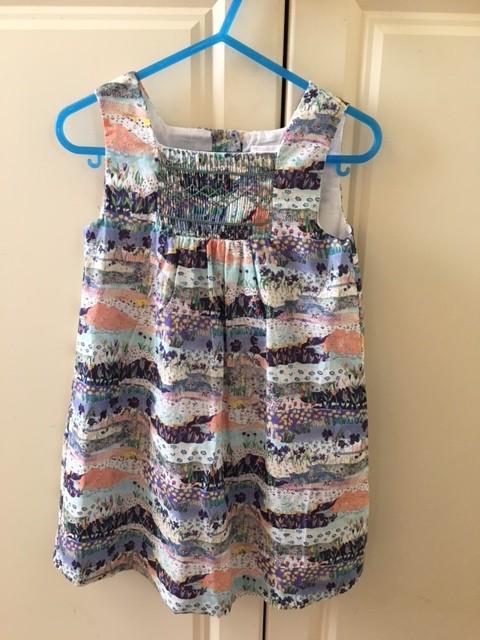 Australia Misha Dress - Posy Patchwork 24m