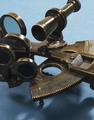 Australia Bronze Pocket Sextant