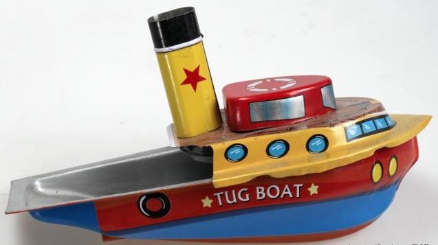 Australia STEAM TUG BOAT - Blue/Red