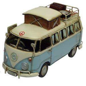 Australia 1966 Kombi Camp Bus Blue 25cm