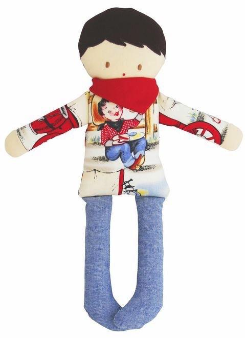 Australia Cowboy Doll Rattle