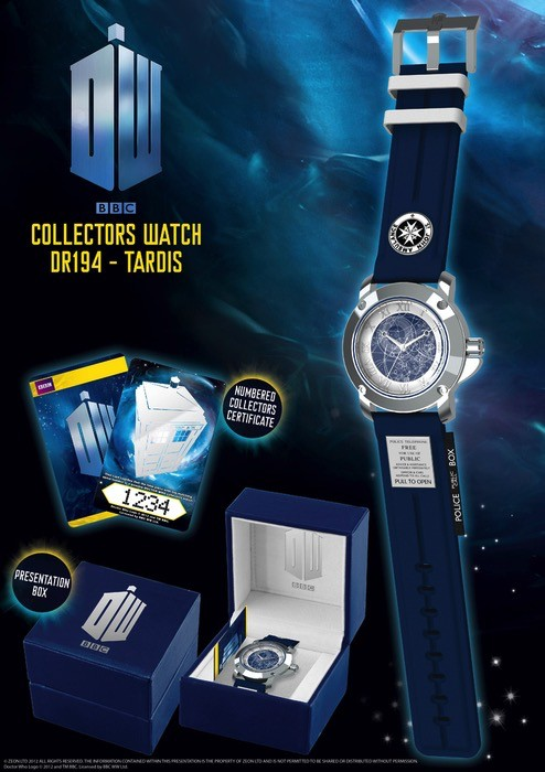Australia Dr Who - Tardis Collector's Watch