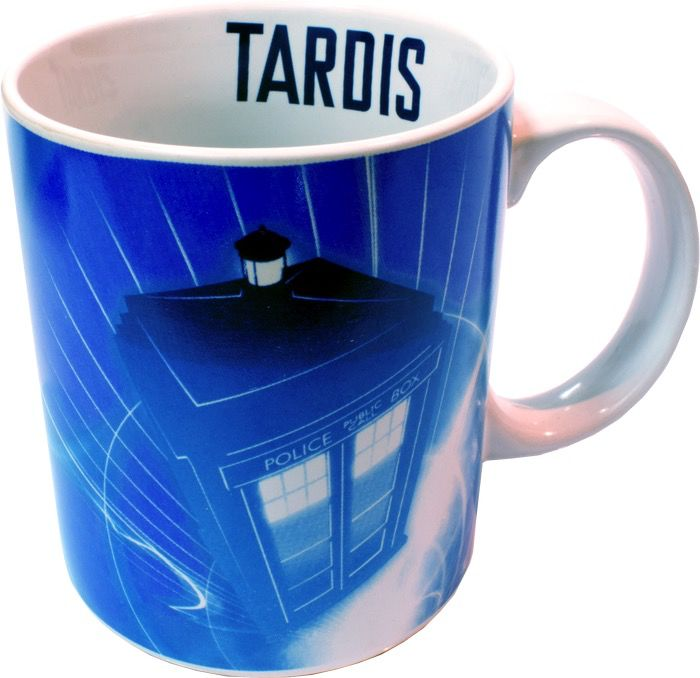Australia Dr Who - Tardis In Flight Mug