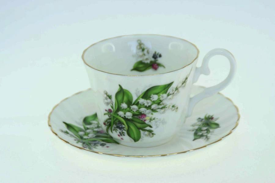 Australia Lily of the Valley Cup & Saucer