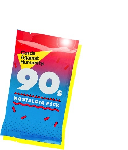 USA Cards Against Humanity: 90s Nostalgia Pack