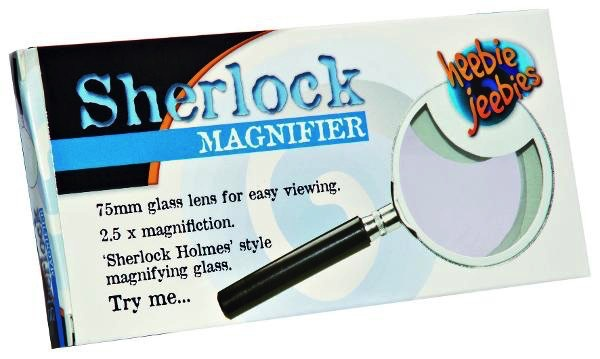 Australia SHERLOCK MAGNIFIER METAL 75MM