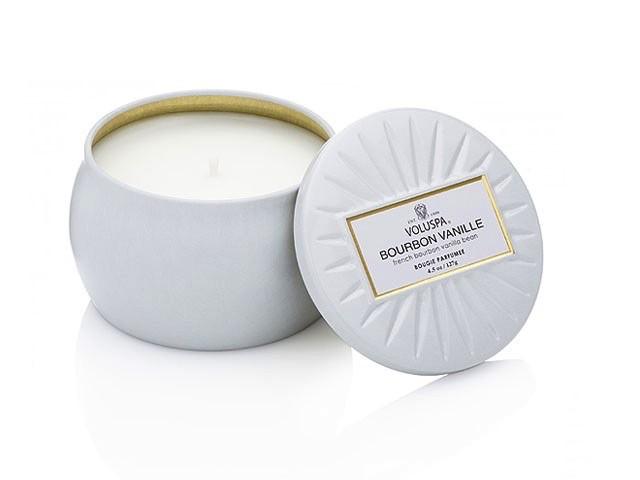 Australia Bourbon Vanille Dec Tin Candle