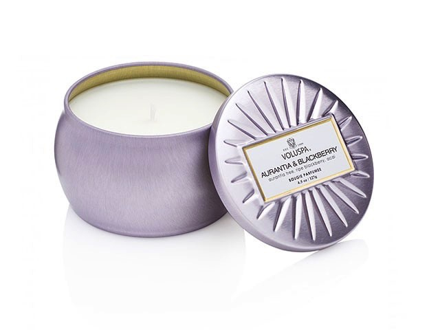 Australia Aurantia & Blackberry Dec Tin Candle