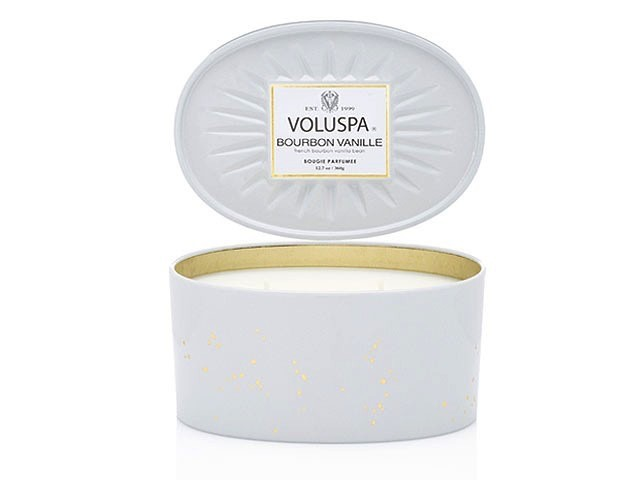 Australia Bourbon Vanille Oval Tin Candle