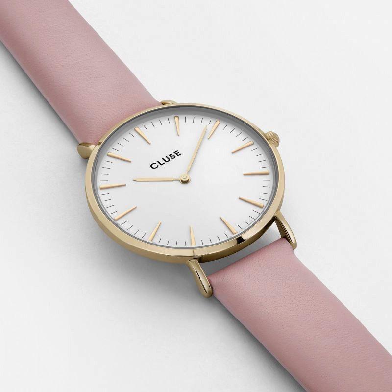 Australia CLUSE La Boheme Gold White/Pink