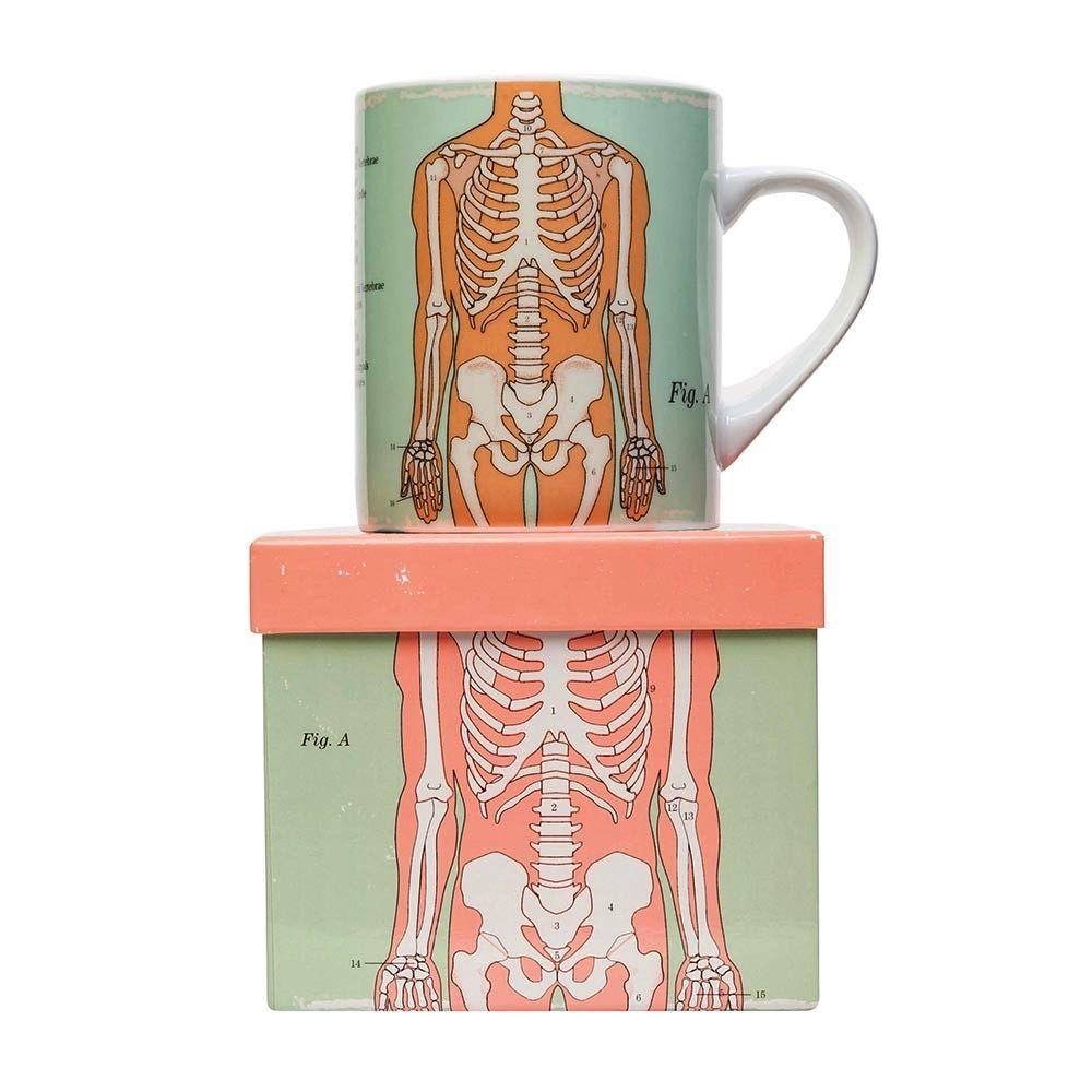 Europe Anatomical Big Mug - Skeleton