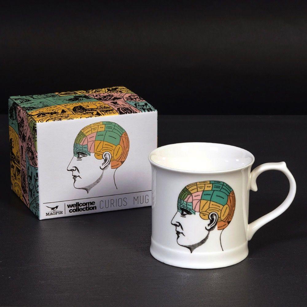 Europe Curios Mug - Phrenology