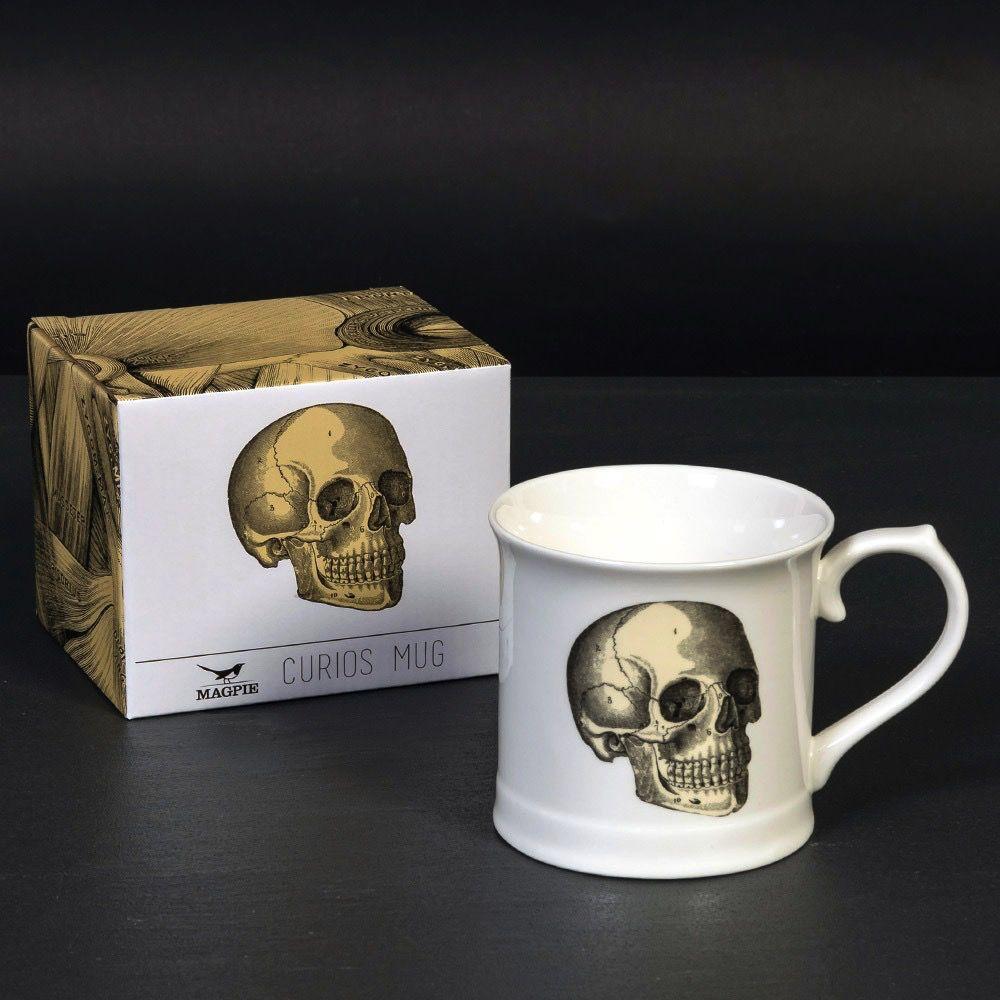 Europe Curios Mug - Skull
