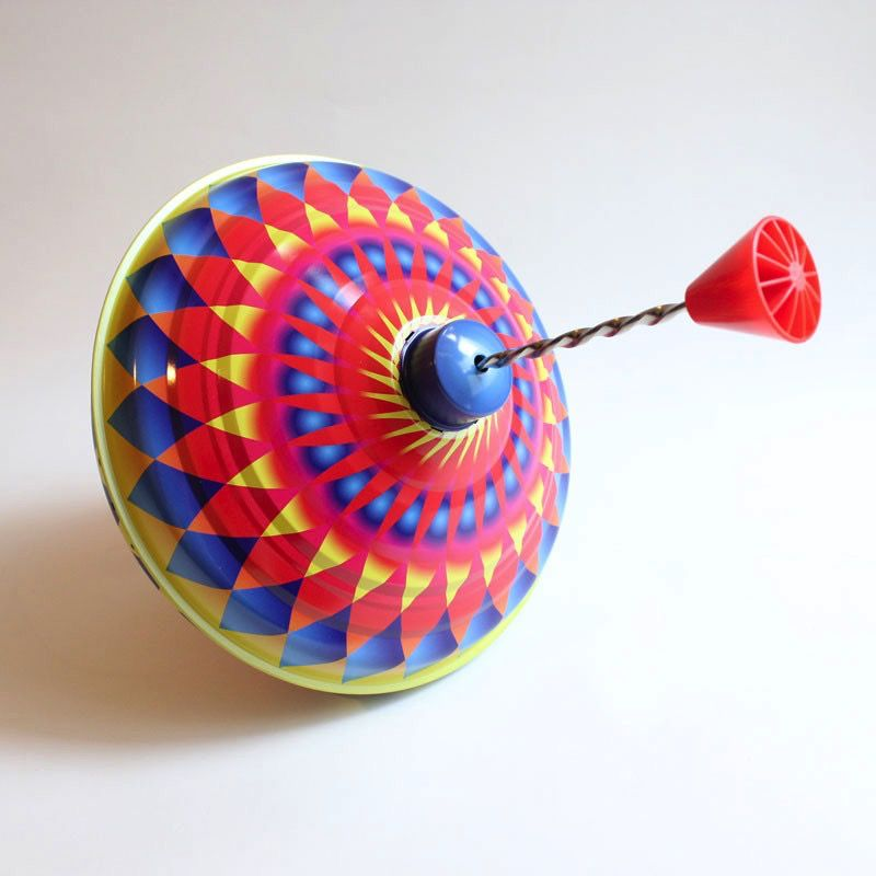 Australia Rainbow Humming Spinning Top - 22cm