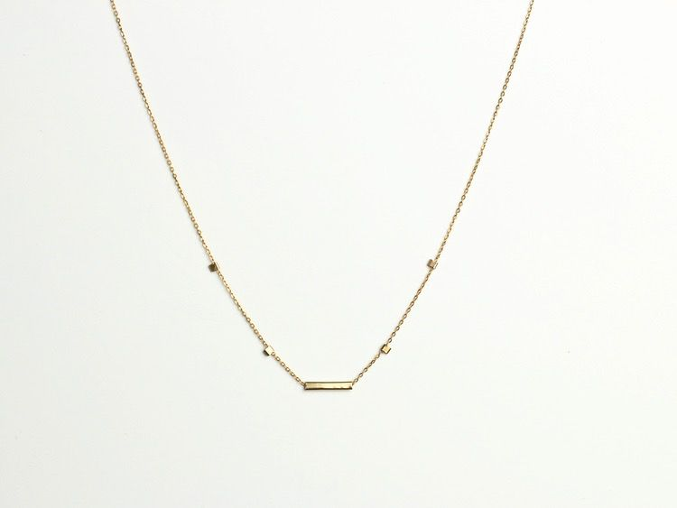 USA Cuadras Necklace Gold