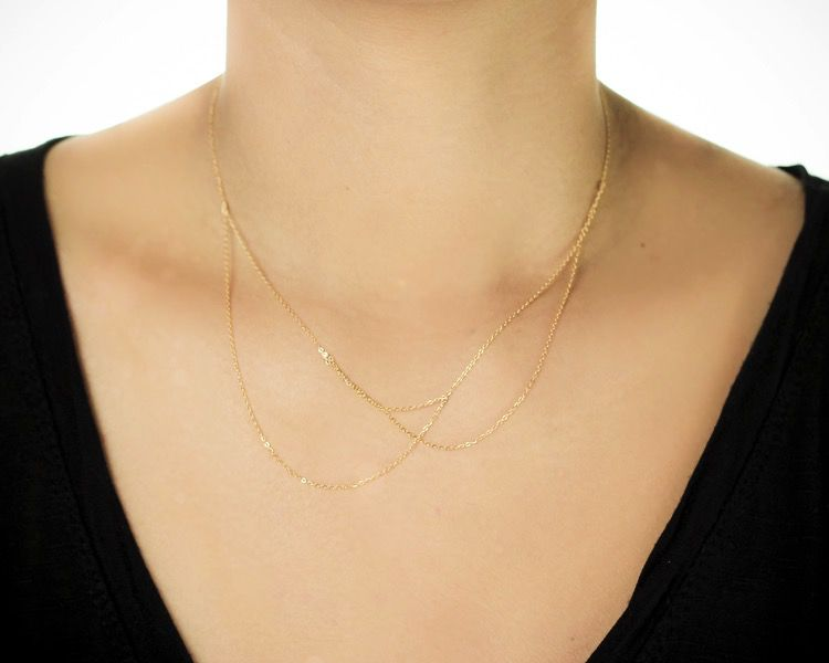 USA Alaba Necklace Gold