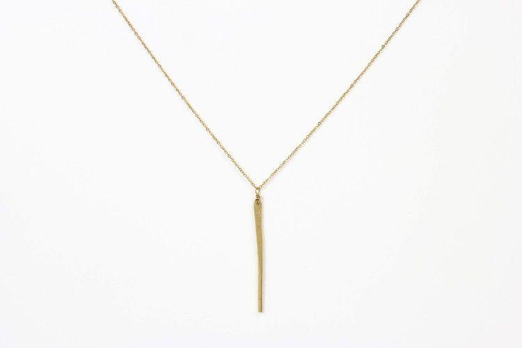 USA Gaia Gold Necklace Gold