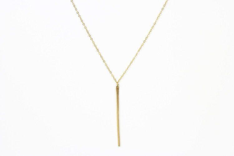 USA Long Gaia Necklace Gold