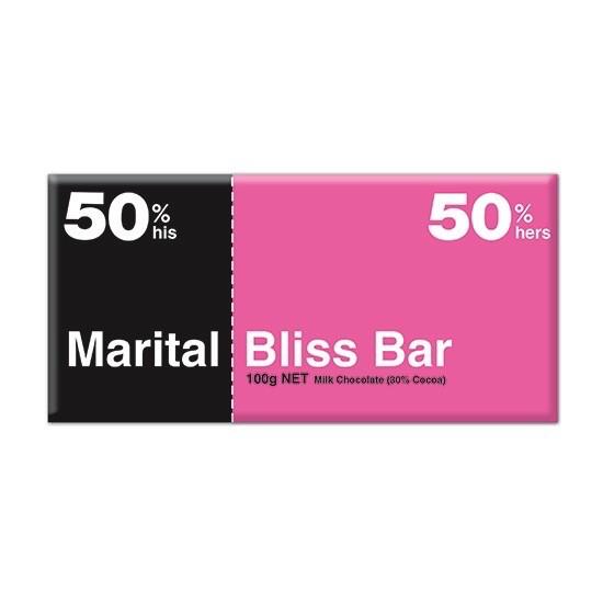 Australia Marital Bliss MILK 100g Chocolate