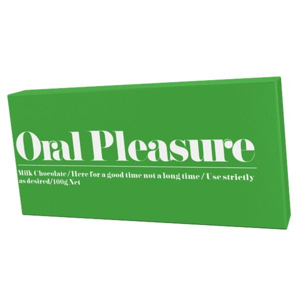 Australia Oral Pleasure MILK 100g Chocolate