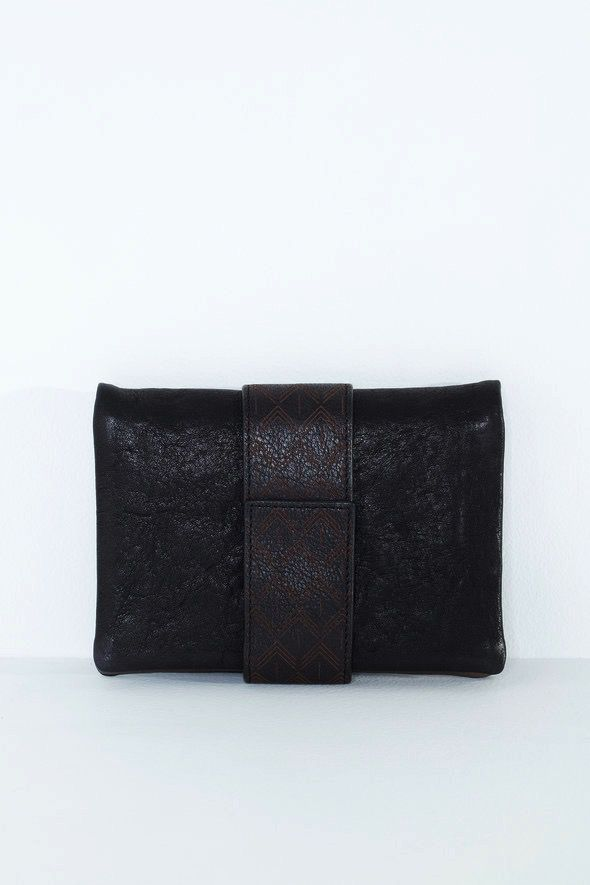 Australia Nancybird Black Bedford Wallet