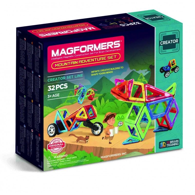 Australia Magformers Adventure Mountain Set