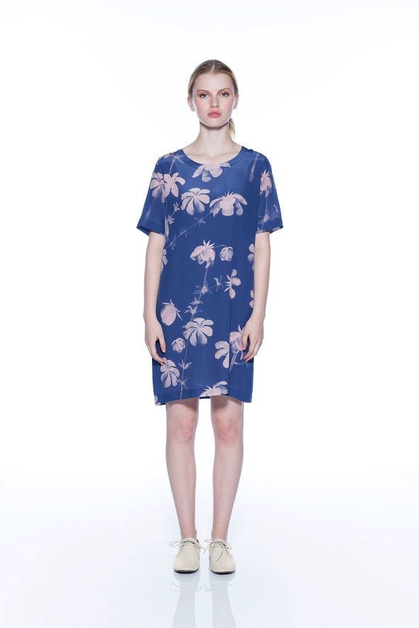 Australia Nancybird S Blue Rose Silla Dress