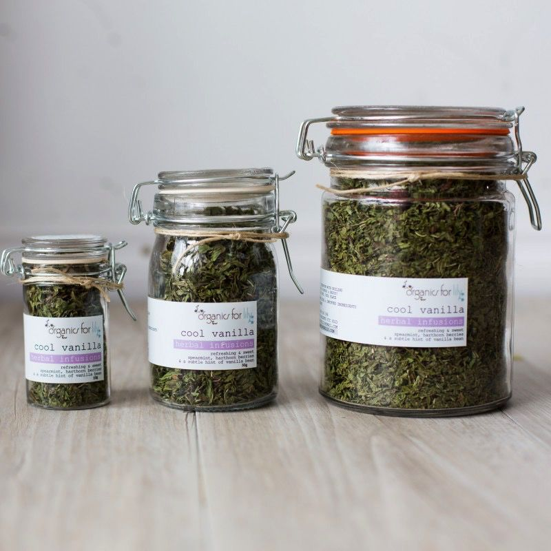 Australia Cool Vanilla Tea 25g Jar