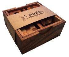 Australia 5 Puzzles In Wooden Box