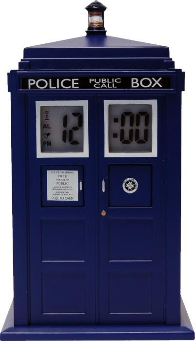 Australia DR WHO - TARDIS PROJECTION ALARM CLOCK