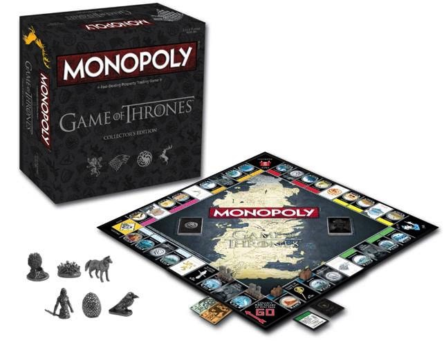 Australia Monopoly - Game of Thrones Collectors Edition