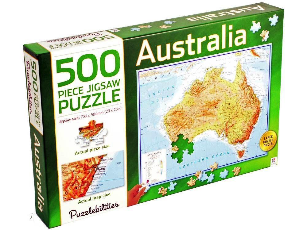 Australia PUZZLEBILITIES AUSTRALIA 500 PC