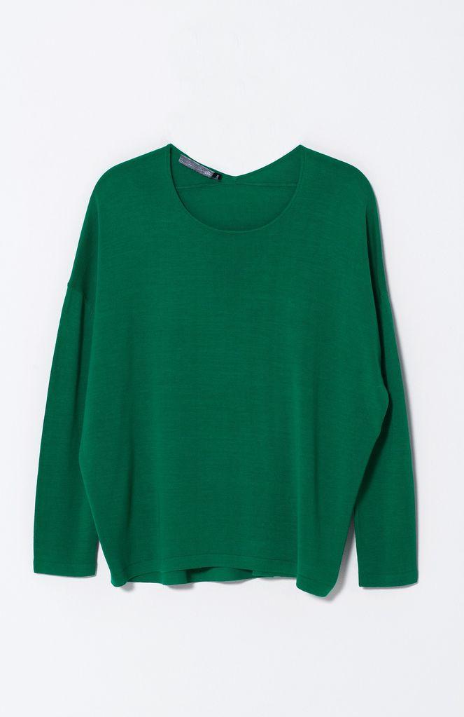 Australia S Green Lightweight Sweater