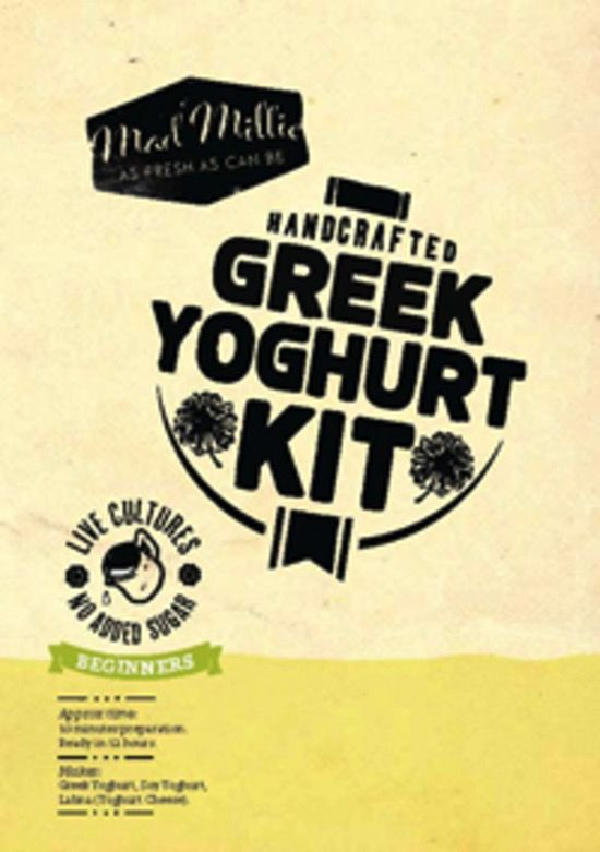 Australia MANUAL - Mad Millie Greek Yoghurt Kit (4L Culture)