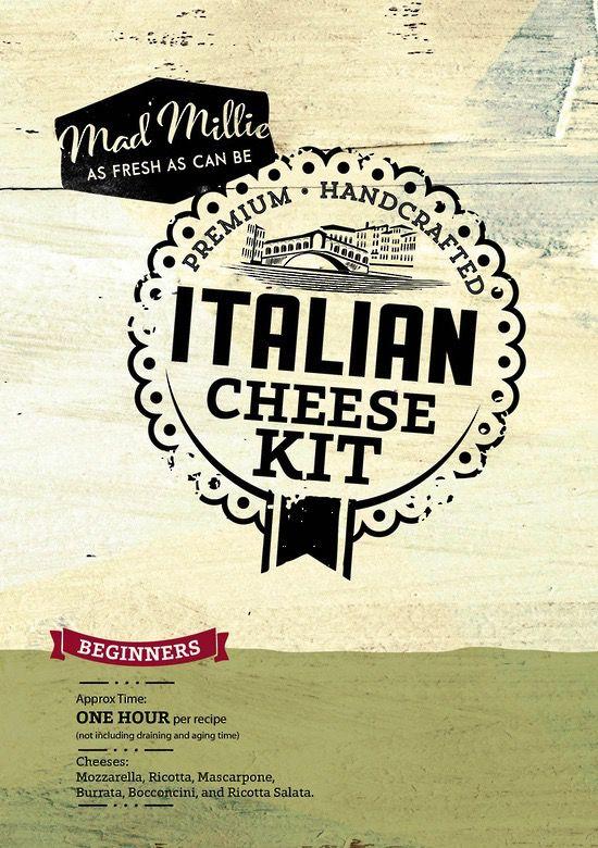 Australia NEW DESIGN - NZ Mad Millie Italian Cheese