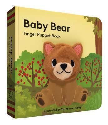 Australia Baby Bear Finger Puppet Book