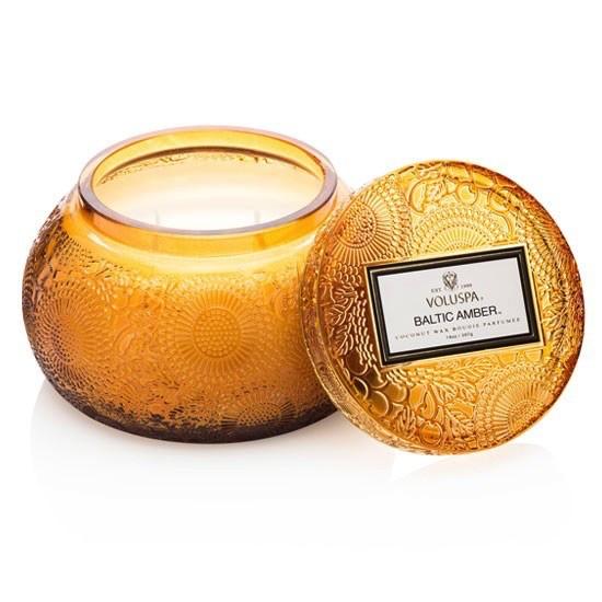 Australia Baltic Amber Chawan Candle