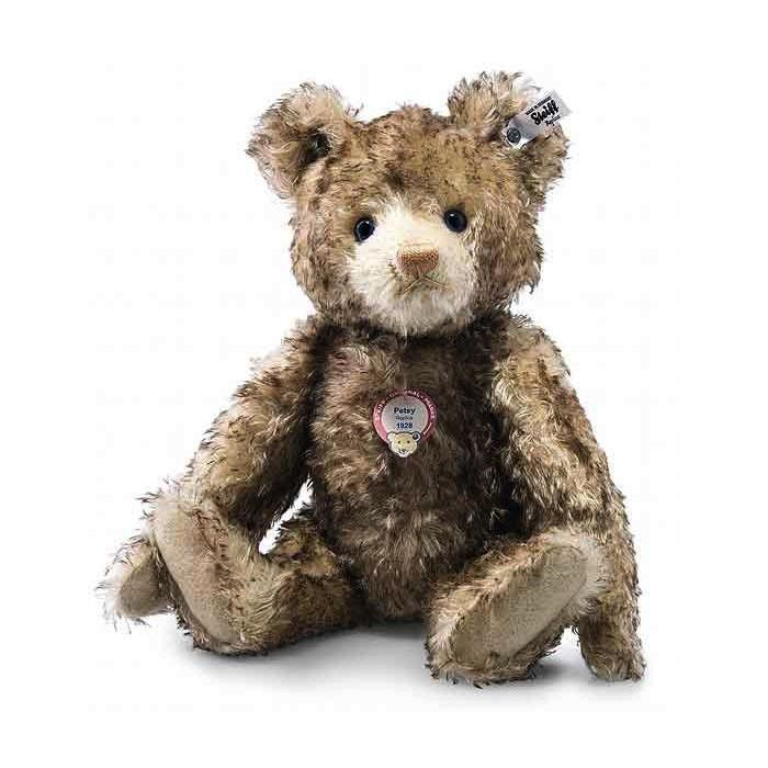 Europe Teddy Bear Petsy replica 1928, brown tip - Steiff