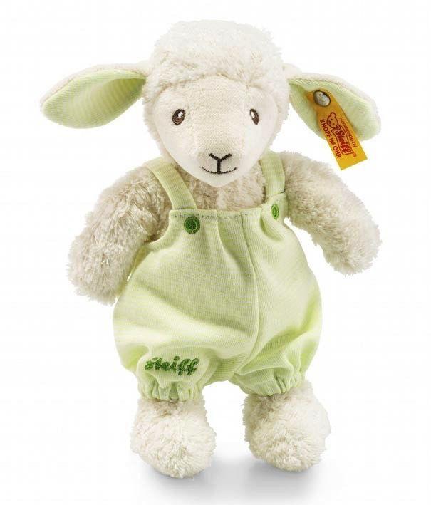 Europe Lenny Lamb, white/light green - Steiff
