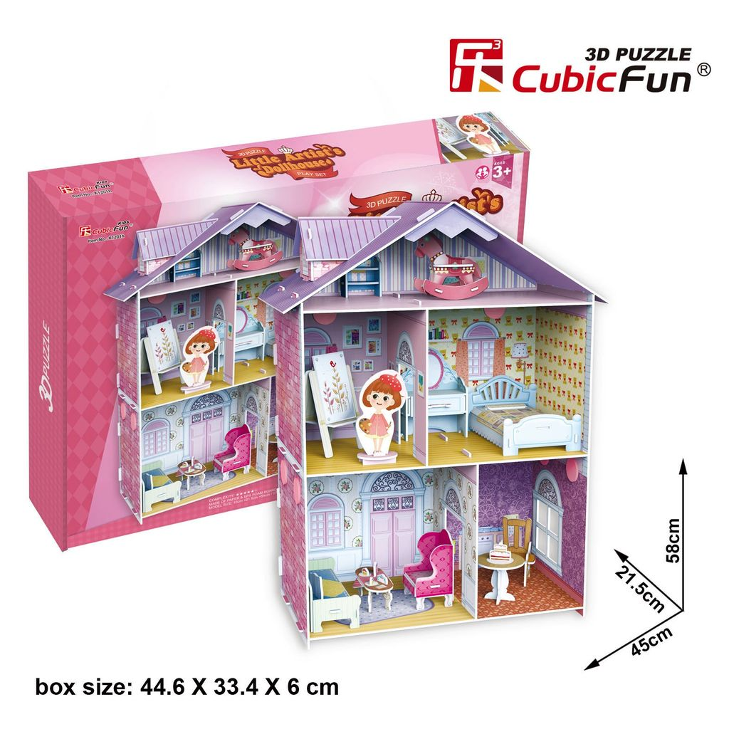 Australia Little Artist's Dollhouse