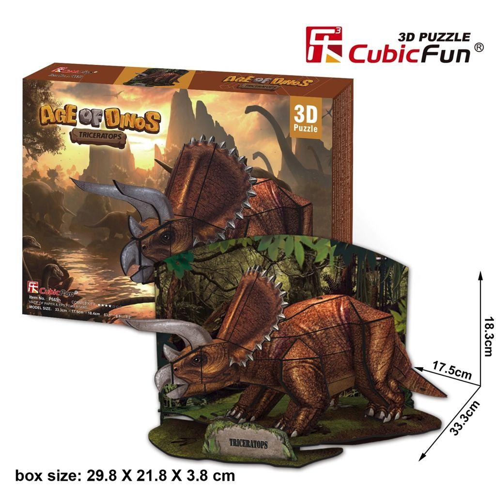 Australia Aqe of Dinos - Triceratops