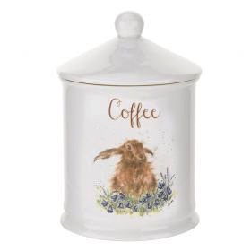 Australia Wrendale COFFEE CANISTER HARE