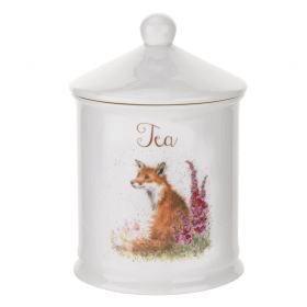 Australia Wrendale TEA CANISTER FOX