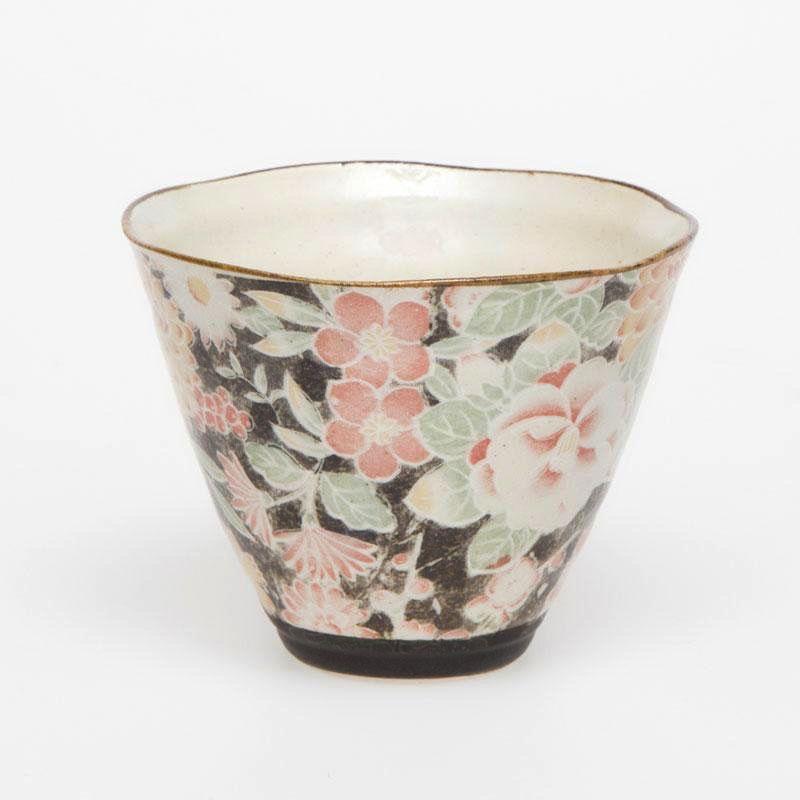 Australia Hana Yuzen Black Cone Cup