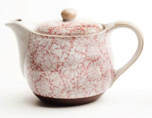 Australia Sunflower Red Teapot (500ml)