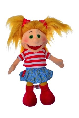 Europe Gisell Hand puppet 35 cm Living Puppets