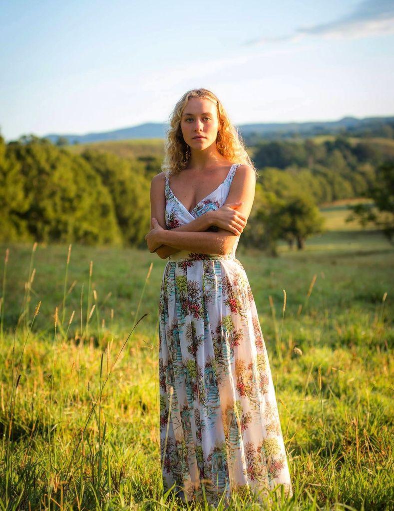 Australia Alice Maxi Dress in Belvedere L
