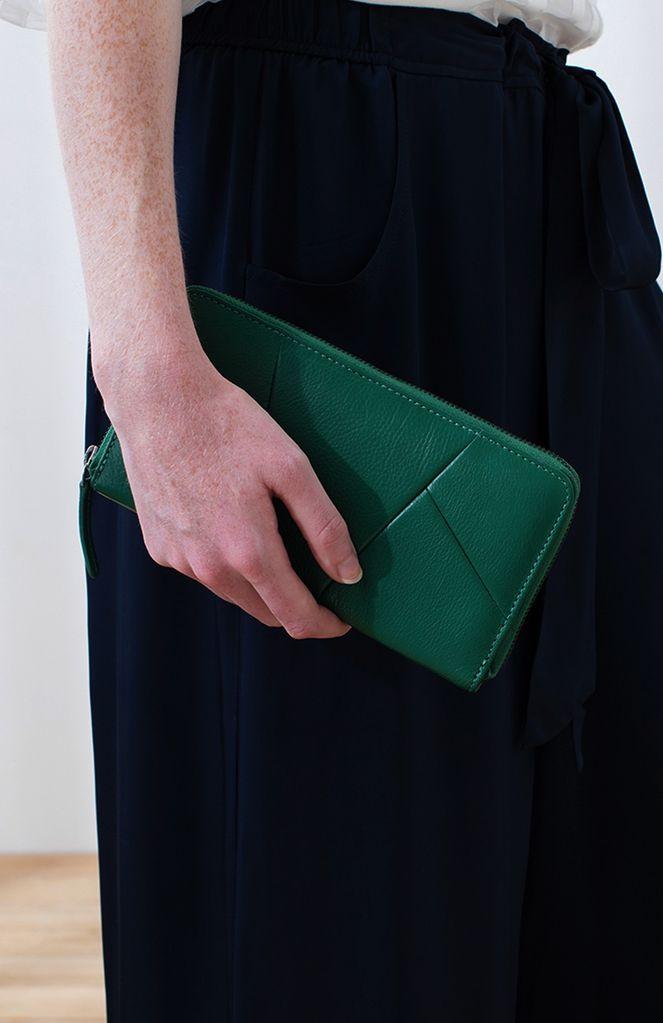 Australia Sea Green Carre Wallet