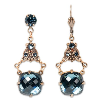 USA Montana Blue & Copper Earrings