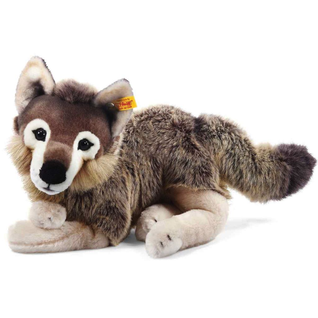 Europe Snorry dangling wolf, grey/brown